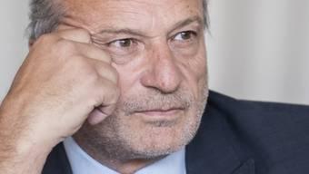 Der Zürcher Stadtrat Filippo Leutenegger hat mitten im Wahlkampf um das Stadtpräsidium die Trennung von seiner Ehefrau Michèle Sauvain bekannt gegeben. (Archivbild)