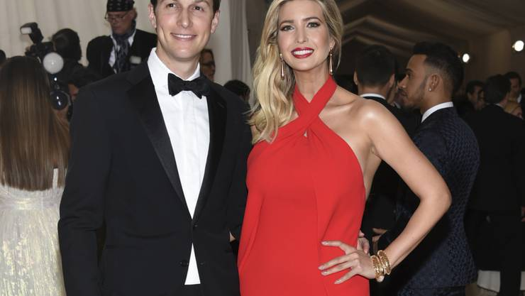 Jared Kushner und Ivanka Trump, beides einflussreiche Mitglieder des Teams Trump, sind offenbar in Washington auf Wohnungssuche. (Archivbild)