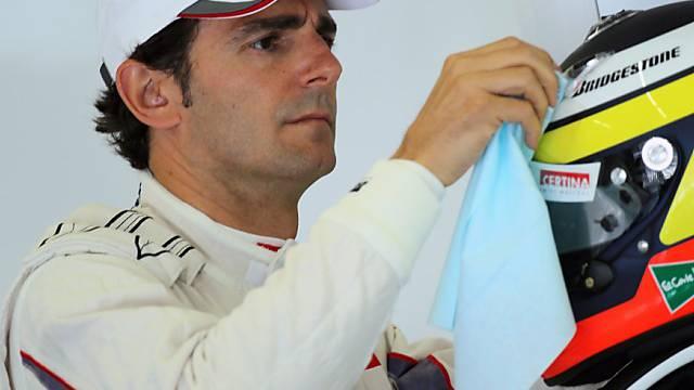 Formel-1-Comeback von Pedro de la Rosa