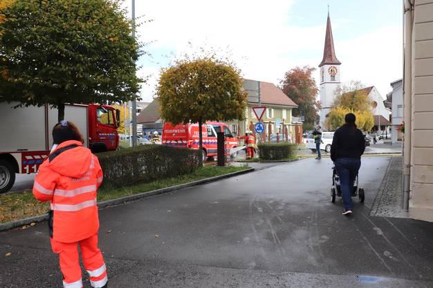 Kommandoübergabe Feuerwehr Kölliken und neues Tanklöschfahrzeug