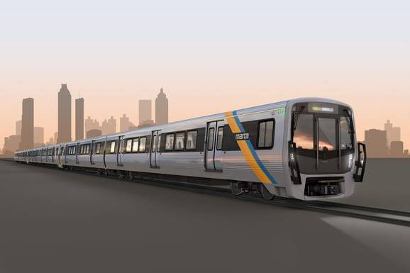 So sehen die Stadler-Züge in einer Visualisierung aus.