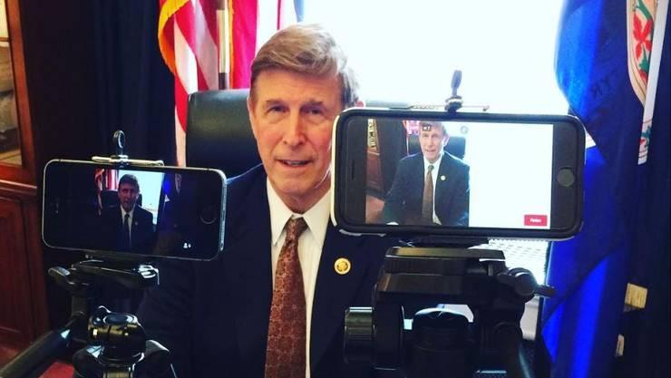 Don Beyer vertritt seinen Heimatstaat Virginia im US-Repräsentantenhaus seit 2014.