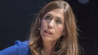 """Als wäre sie nie weg gewesen: Moderatorin Susanne Wille ist nach fast sechs Jahren und einem intensiven Wiedereinstieg zurück bei """"10vor10"""". (Archivbild)"""