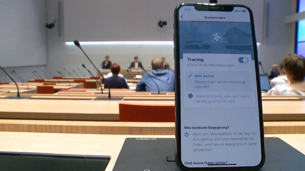 SwissCovid-App ist seit heute für alle verfügbar