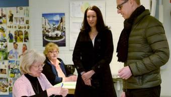 Abgewählt: Stubb im Wahlbüro seiner Heimatstadt Espoo