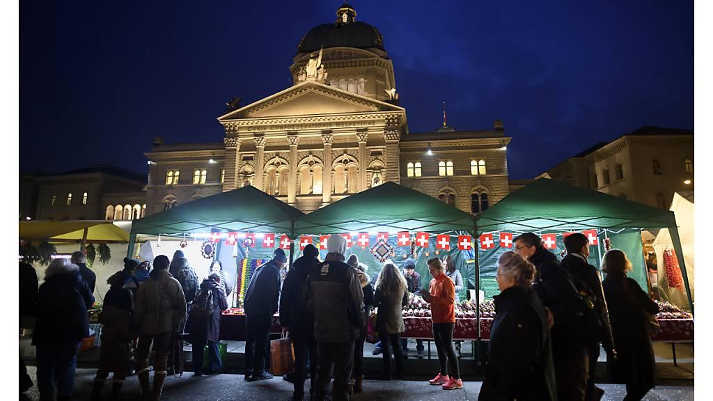 Das war der letzte Zibelemärit in Bern: jener vom 25. November 2019.
