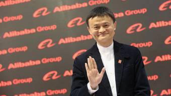 Alibaba-Firmengründer Jack Ma ist der reichste Mann Asiens. Foto: Getty Images/Sean Gallup