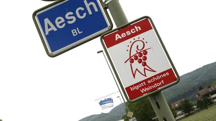 «vo Aesch-bigott»: Für Gemeindepräsidentin Marianne Hollinger ist dies eine Marke, mit der man sich von den vier anderen Aesch in der Schweiz unterscheidet.