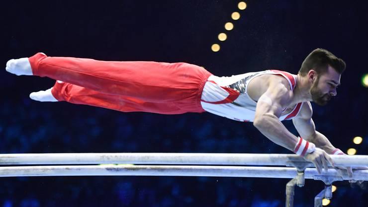 Kunstturner Oliver Hegi hat seinen Platz im Schweizer Olympia-Kunstturn-Team – passiert nichts Ausserordentliches – auf sicher. Der 26-Jährige war 2016 bereits in Rio de Janeiro dabei.