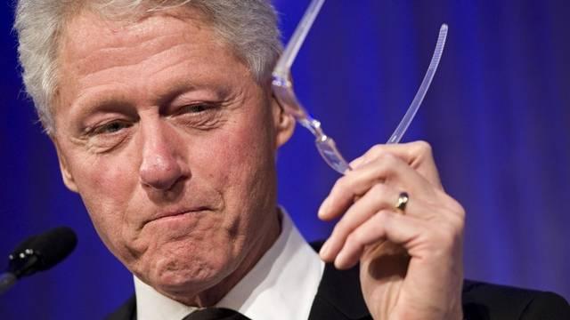 Bill Clinton ist nervös vor der Hochzeit seiner Tochter