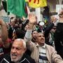 Zum letzten Mal vor dem Ramadan sind wieder Tausende in Algier auf die Strasse gegangen.