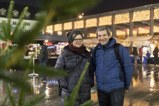 Sabine Billeter, Geschäftsleiterin Vereinigung Zentrum Dietikon, und Armin Strässle, Leiter Jugend und Freizeit.