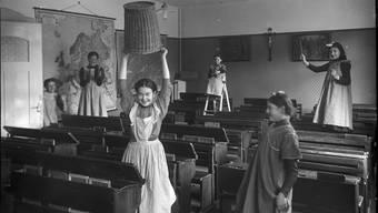 Einige Kinder waren auch in Anstalten untergebracht, etwa im ehemaligen Kapuzinerinnenkloster in Baden.