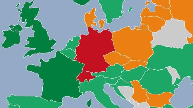 Die Tabak-freundlichsten Länder Europas laut der neuesten «Tabakkontrollskala» der europäischen Krebsgesellschaften.