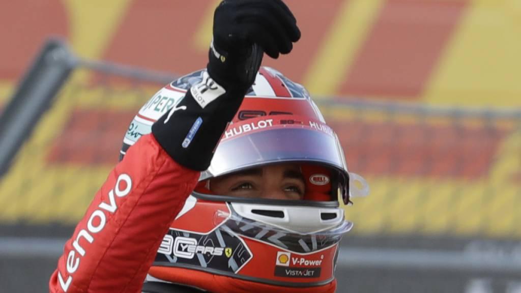 Vierte Pole-Position in Serie für Charles Leclerc