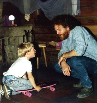 Im Mai 1988 hatte eine Kirchgängerin Pfarrer Graber an einen Kindergeburtstag in die Waldhütte Müslen eingeladen.