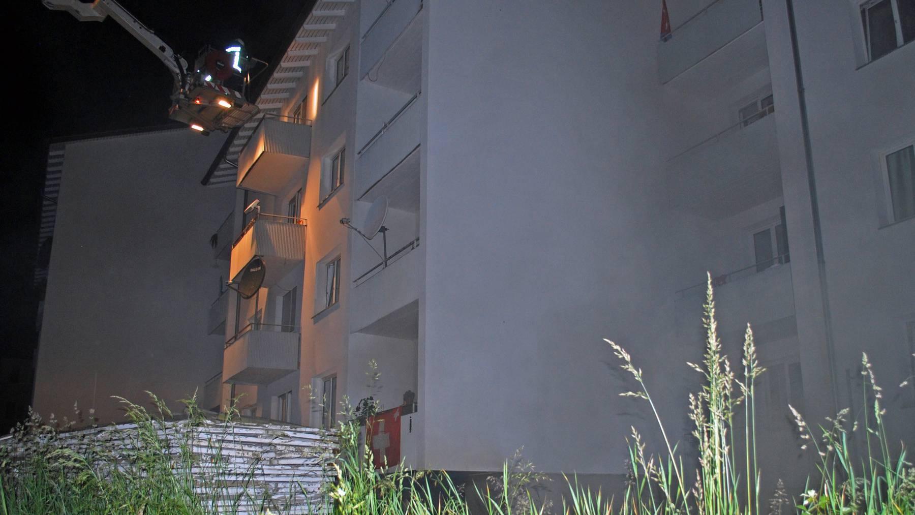Emmenbrücke: 50 Personen nach Brand evakuiert