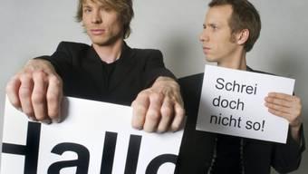 """Kleinstkunst-Preisträger-Duo """"Ohne Rolf"""""""