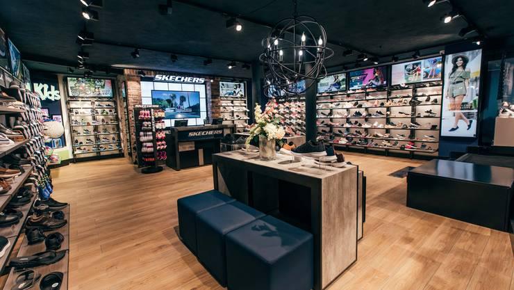 <p>Der Z&uuml;rcher Flagship-Store an der Uraniastrasse 4.</p>