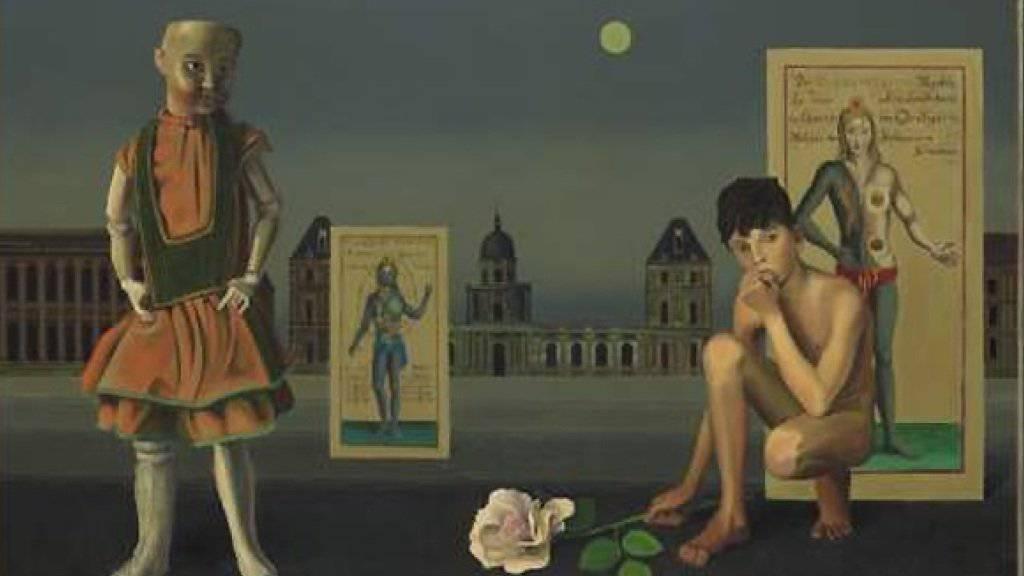 «On ne saura jamais» von Ricco Wassmer: Das Kunstmuseum Bern widmet dem vor 100 Jahren geborenen Maler eine umfassende Retrospektive (Bild Kunstmuseum Bern).