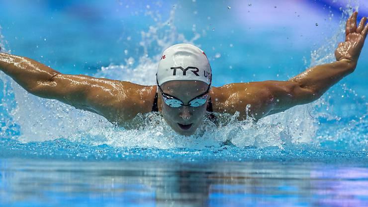 Maria Ugolkova im Vorlauf über 200 m Lagen
