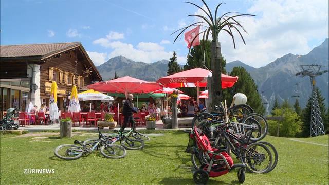 Rekordsommer Schweiz: 20% mehr Hotelübernachtungen im Juli