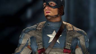 "Chris Evans im Film ""Captain America""."