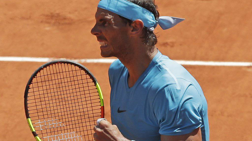 Von Handgelenkproblemen nichts mehr zu sehen: Rafael Nadal