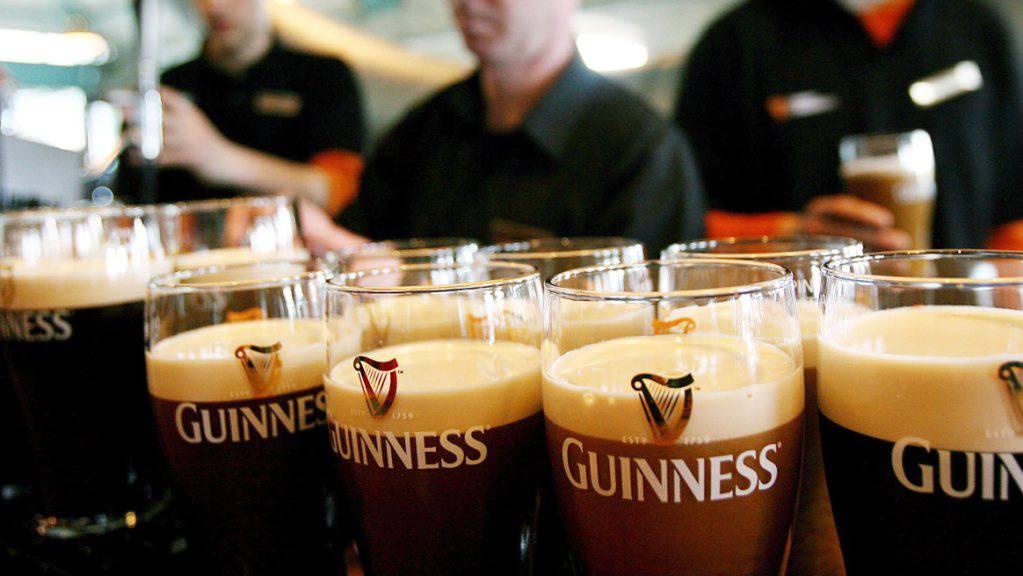 Der Guinness- und Smirnoff-Hersteller Diageo hat wegen der Pandemie weniger verkauft. (Archiv)