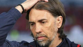 Zunehmend ratlos: Mainz-Trainer Martin Schmidt