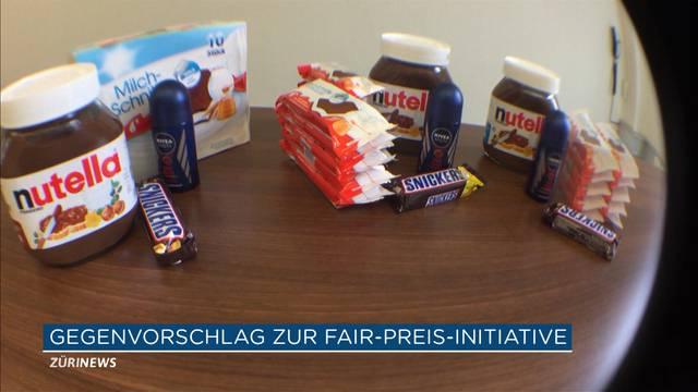 Gegenvorschlag zur Fair-Preis-Initiative geht in die Vernehmlassung