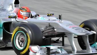 Mercedes-Pilot Michael Schumacher am schnellsten unterwegs