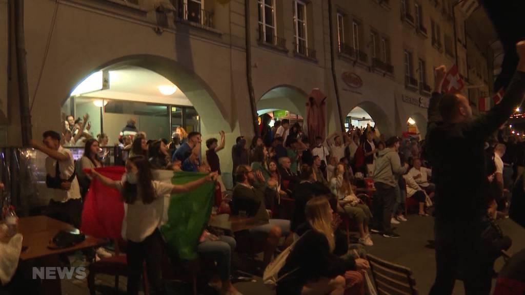 Italien ist Fussball Europameister: Nach dem Schlusspfiff brechen in Bern alle Dämme