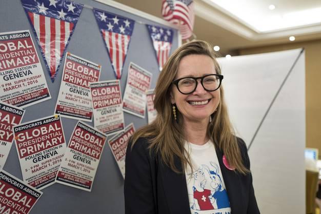 Anne-Shelton Aaron will, dass Ausland-Amerikaner in der Schweiz eine Stimme haben. Und diese bevorzugt den Demokraten geben. Anne ist Präsidentin der Democrats abroad Switzerland.