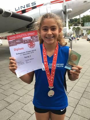 2. Rang für Selina Furler, SATUS Gränichen