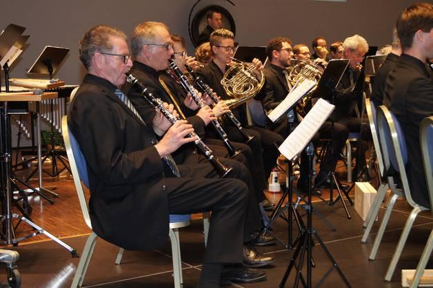 Das Blasorchester Baden Wettingen trat am Samstag im Trafo auf.
