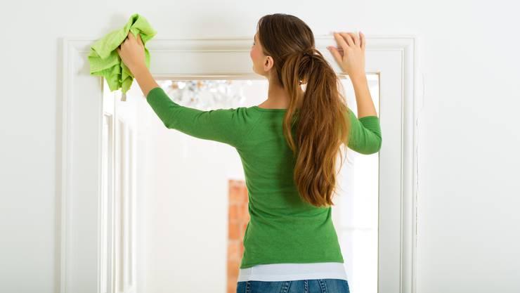 Am wenigsten gerne putzen Schweizerinnen und Schweizer Fenster und Toiletten.