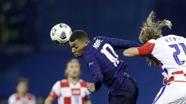 Kylian Mbappé erzielte in Zagreb Frankreichs Siegestor