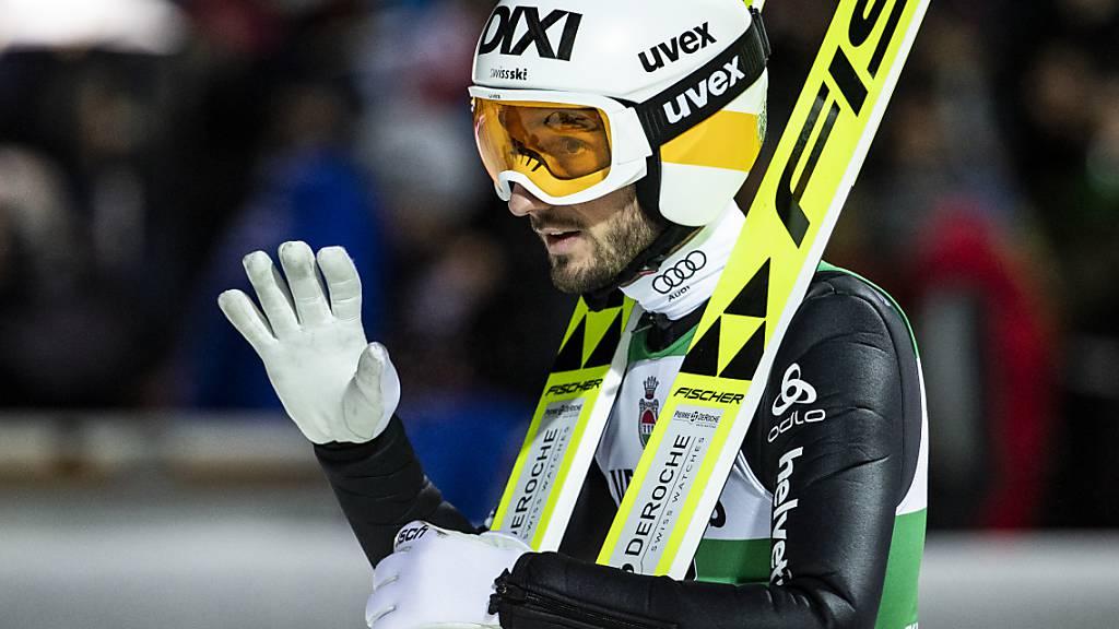 Der Schweizer Teamleader an der Vierschanzentournee: Killian Peier