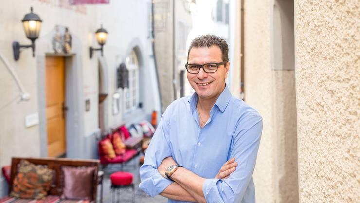 Abdel Chariak, Besitzer der «Nouba Lounge» an der Oberen Gasse.
