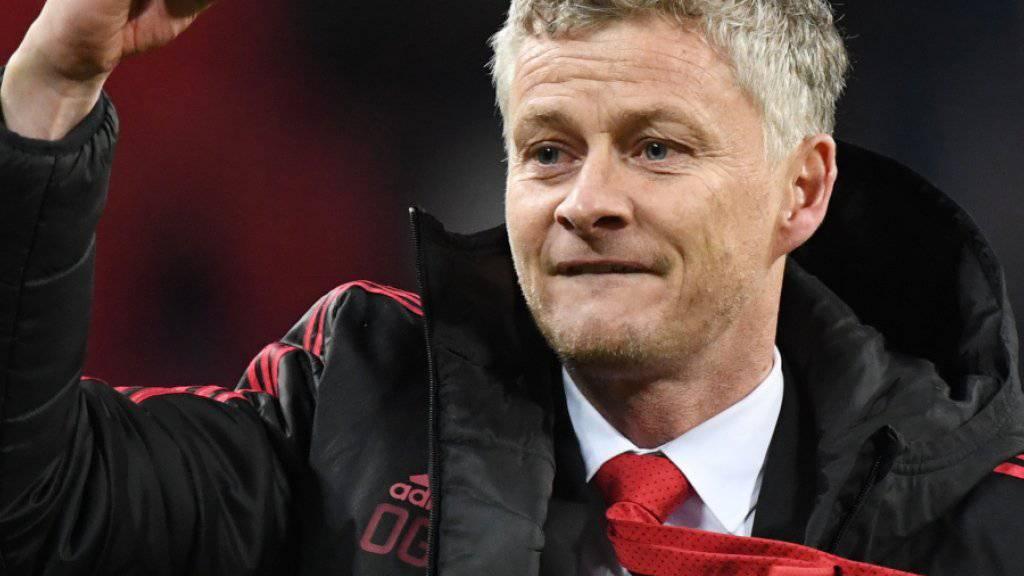 Brachte die Freude nach Manchester zurück: Uniteds neuer Coach Ole Gunnar Solskjaer