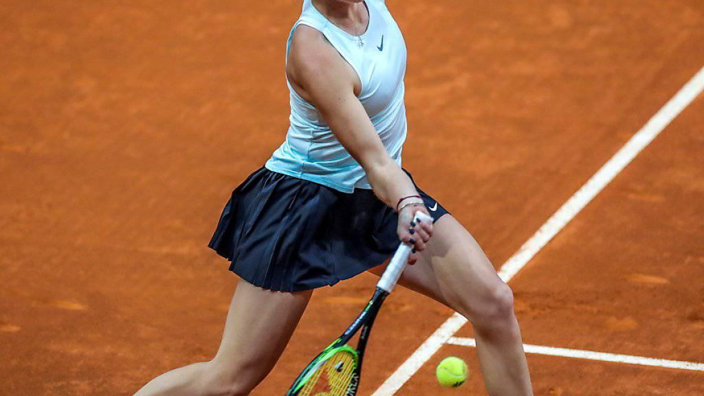 Belinda Bencic setzte sich in Madrid in der 2. Runde nach zähem Kampf gegen Swetlana Kusnezowa durch