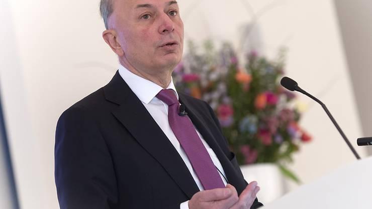 Dieter Weisskopf verdient bei Lindt+Sprüngli bisher weniger als Vorgänger Ernst Tanner (Archivbild).