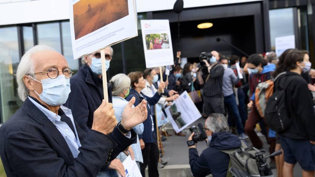 Klimaaktivisten in Lausanne erneut vor Gericht