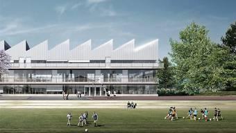 Eines der grössten Investitionsprojekte im Budget 2019 ist der Neubau der Sekundarschule Laufen.