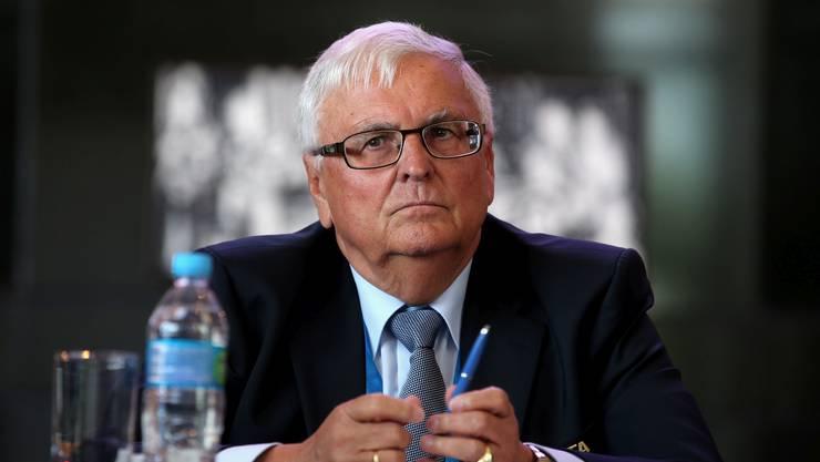 Theo Zwanziger, 74, Ex-DFB-Präsident.