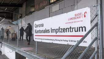 Am 4. Januar wurde das Baselbieter Impfzentrum Feldreben in Muttenz eröffnet.