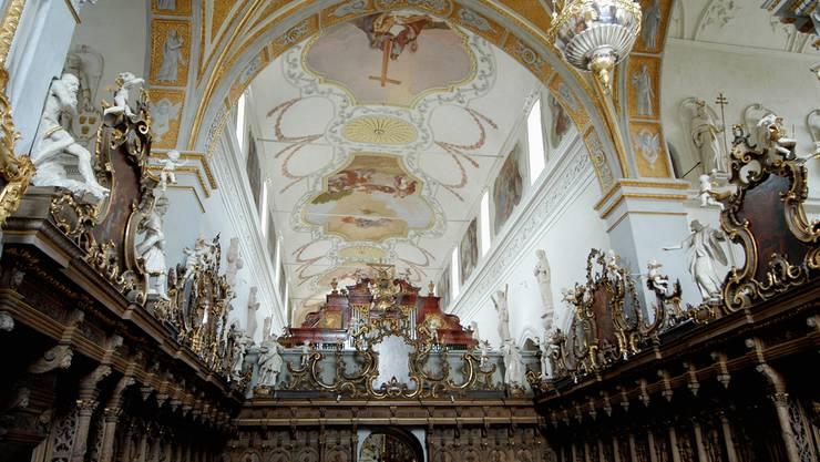 Immer wieder für Konzertbesucher ein Erlebnis: Die barocke Klosterkirche Wettingen. Walter Schwager/Arch