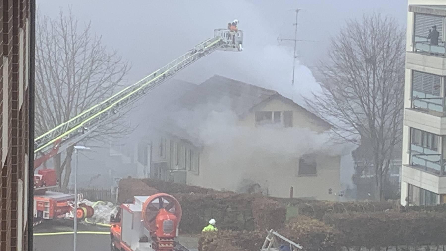 Brand an der Rosengartenstrasse
