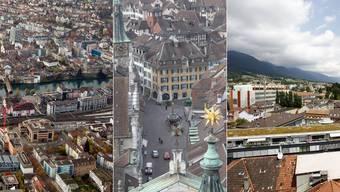 Olten schliesst im Städteranking in den Top 50 ab. Solothurn und Grenchen folgen später.